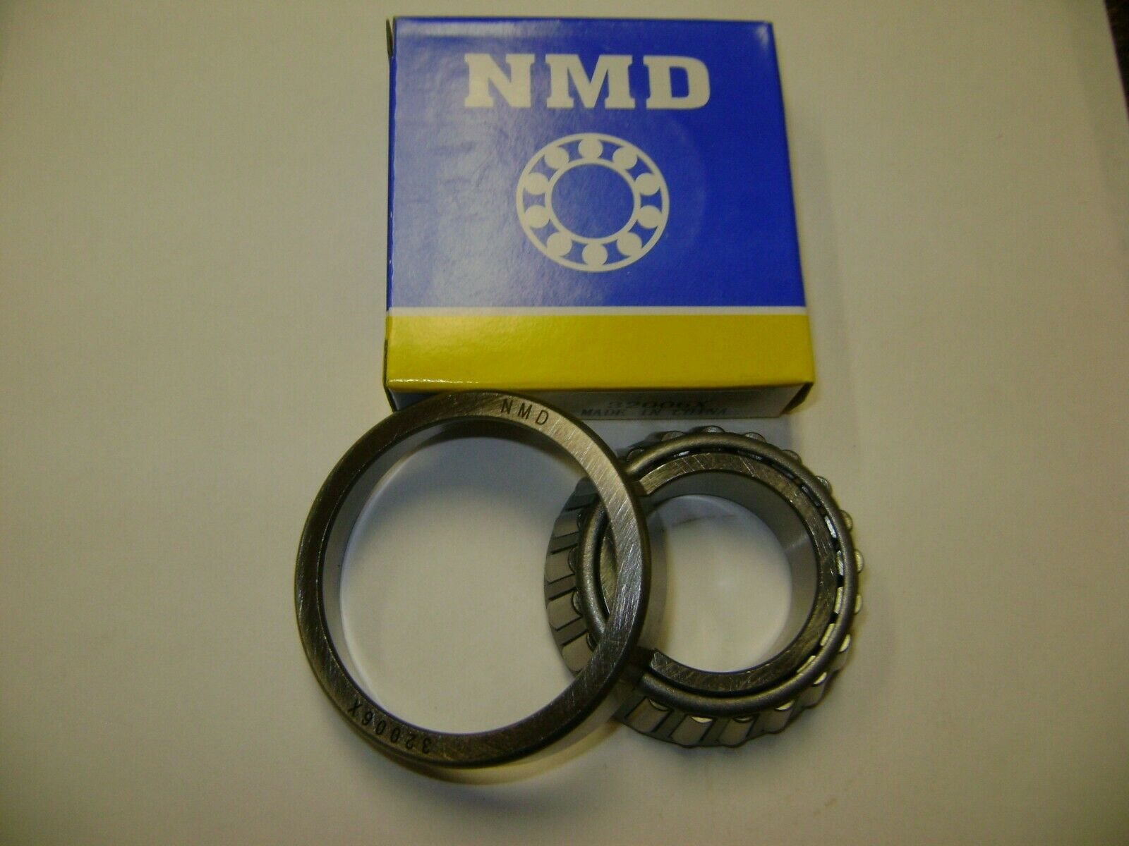 """NMD LM11949//LM11910 3//4/""""X1-25//32/""""X39//64/"""" CUP /& CONE TAPERED ROLLER BEARING SET2"""